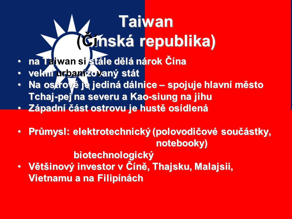 Taiwan (Čínská republika)