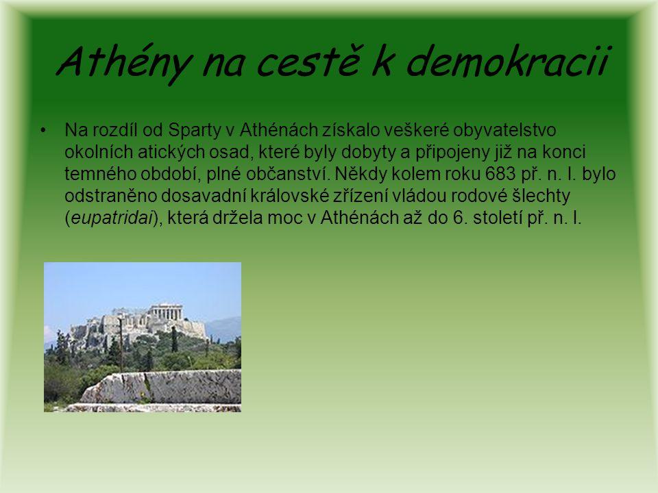 Athény na cestě k demokracii