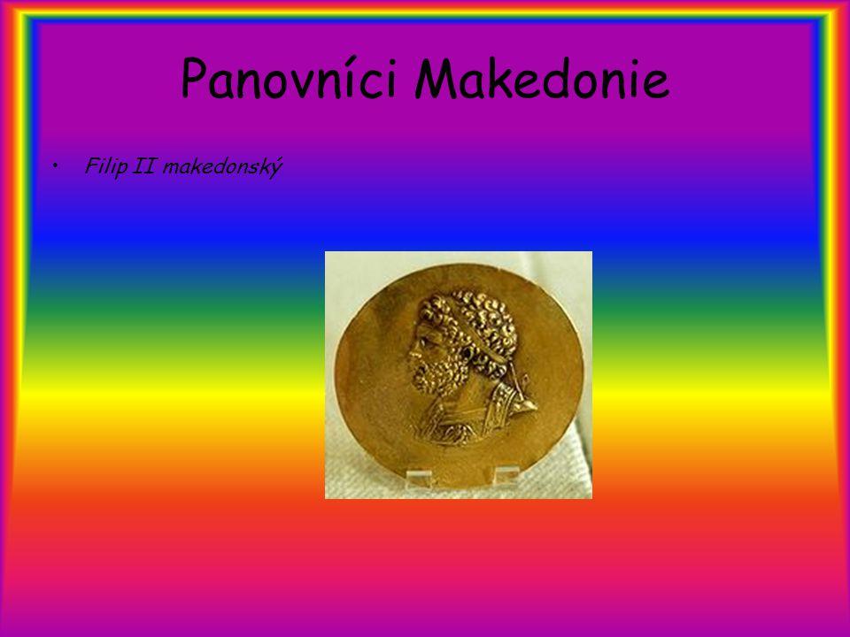 Panovníci Makedonie Filip II makedonský