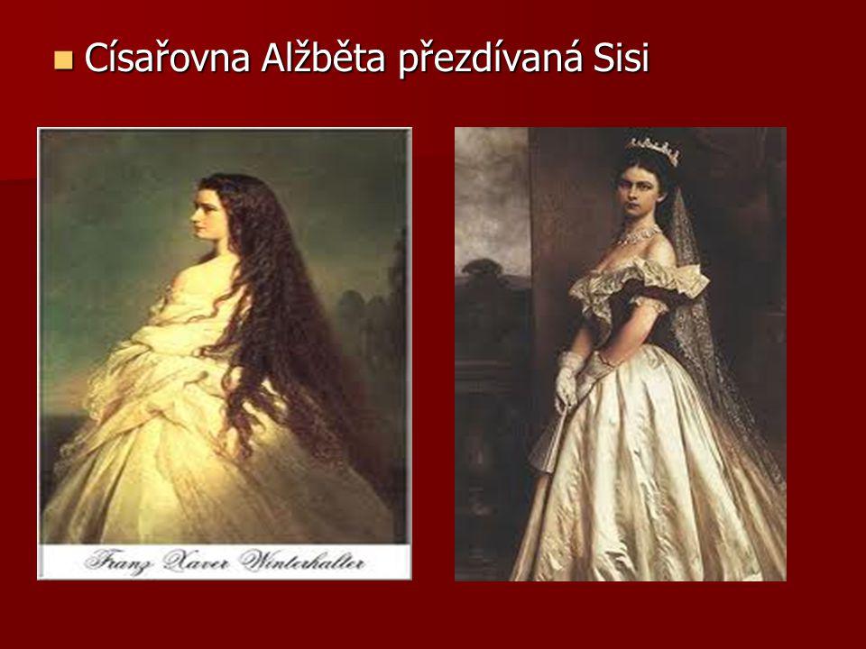 Císařovna Alžběta přezdívaná Sisi