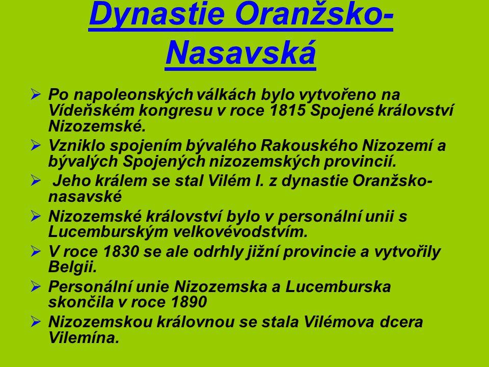 Dynastie Oranžsko-Nasavská