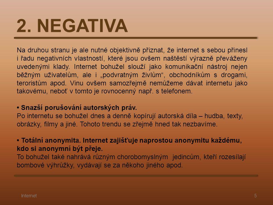 2. NEGATIVA