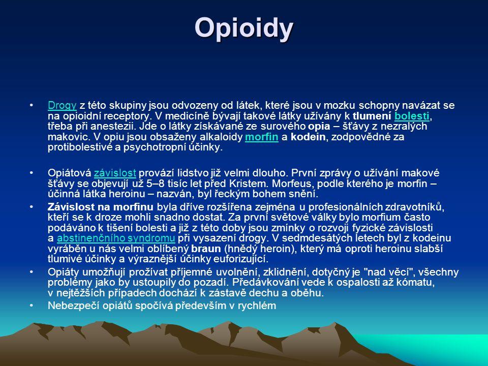Opioidy