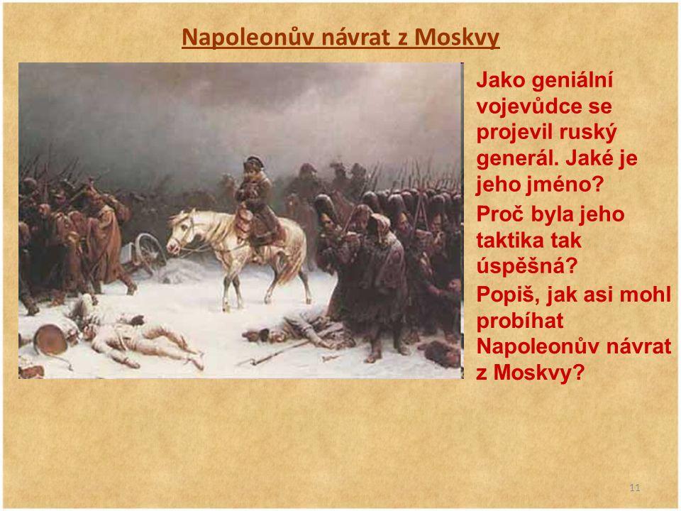 Napoleonův návrat z Moskvy