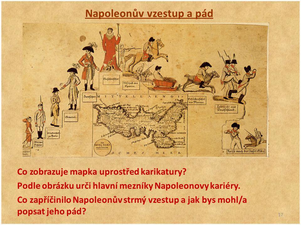 Napoleonův vzestup a pád
