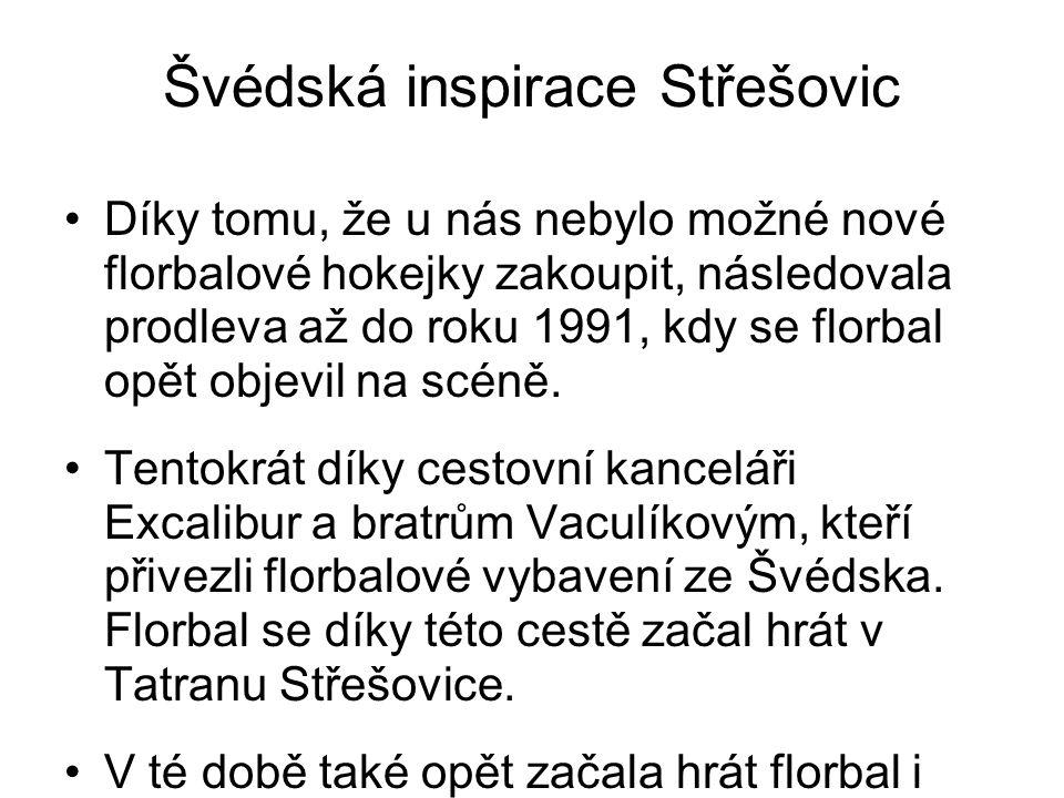 Švédská inspirace Střešovic