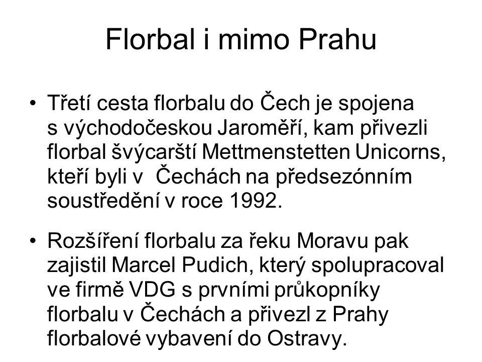 Florbal i mimo Prahu