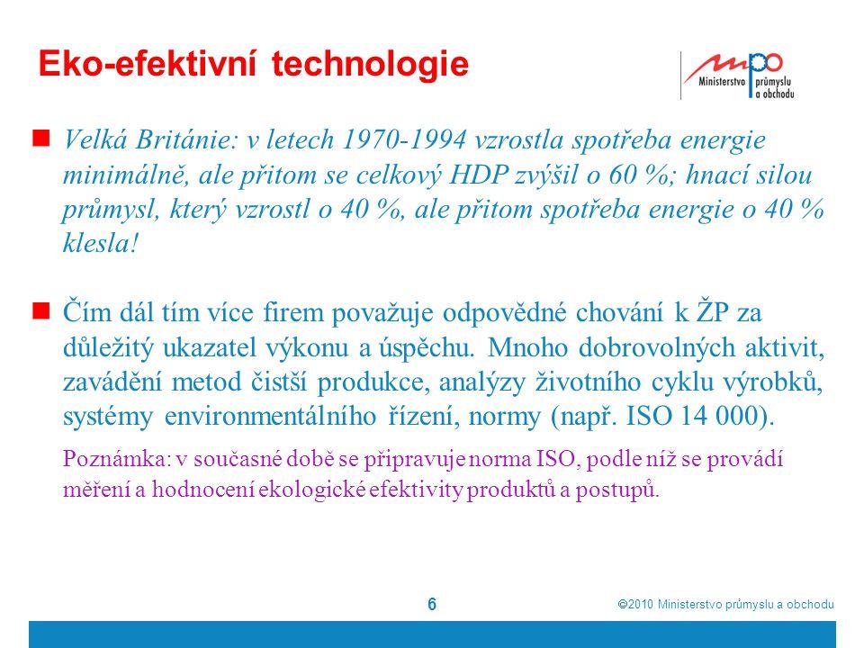 Eko-efektivní technologie