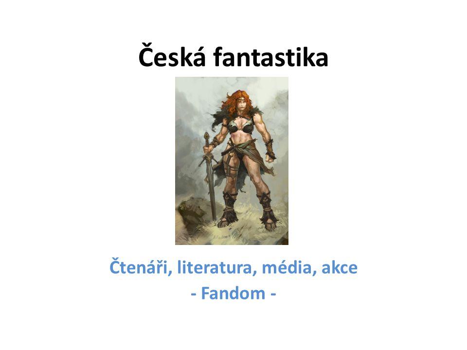 Čtenáři, literatura, média, akce - Fandom -