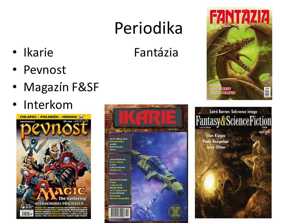Periodika Ikarie Fantázia Pevnost Magazín F&SF Interkom