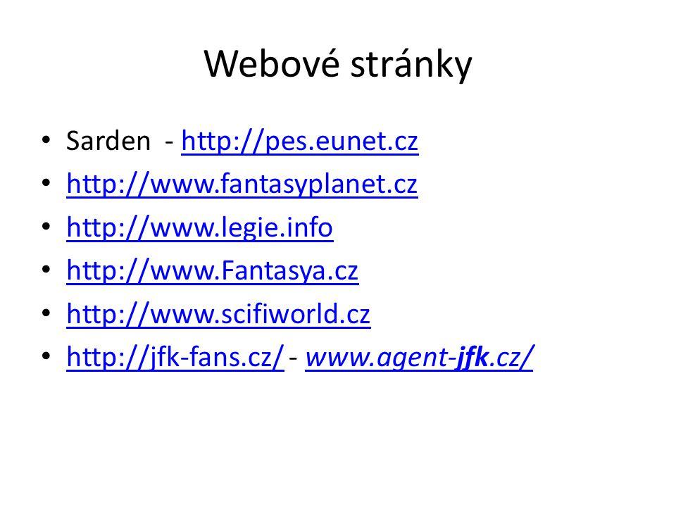 Webové stránky Sarden - http://pes.eunet.cz