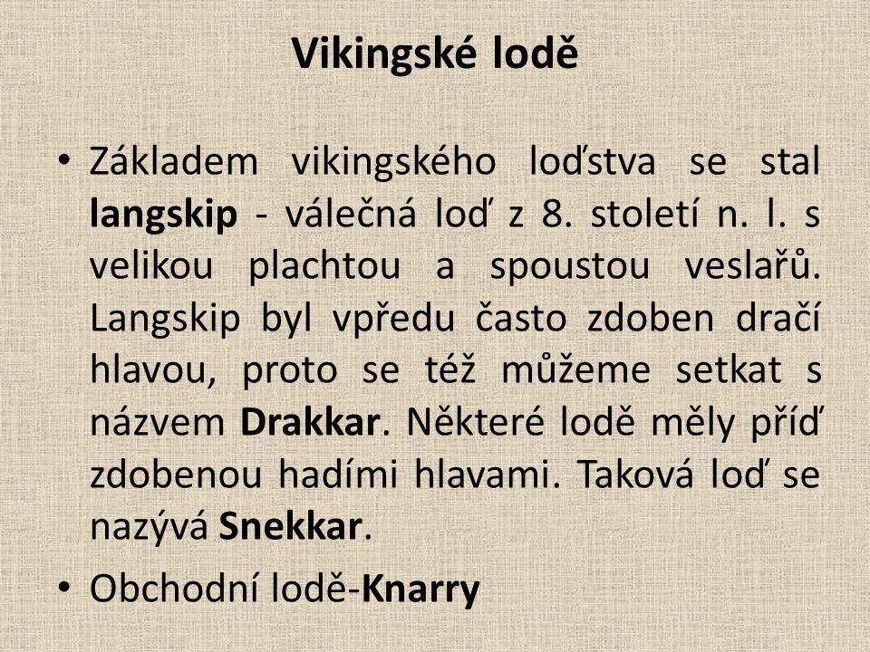 Vikingské lodě