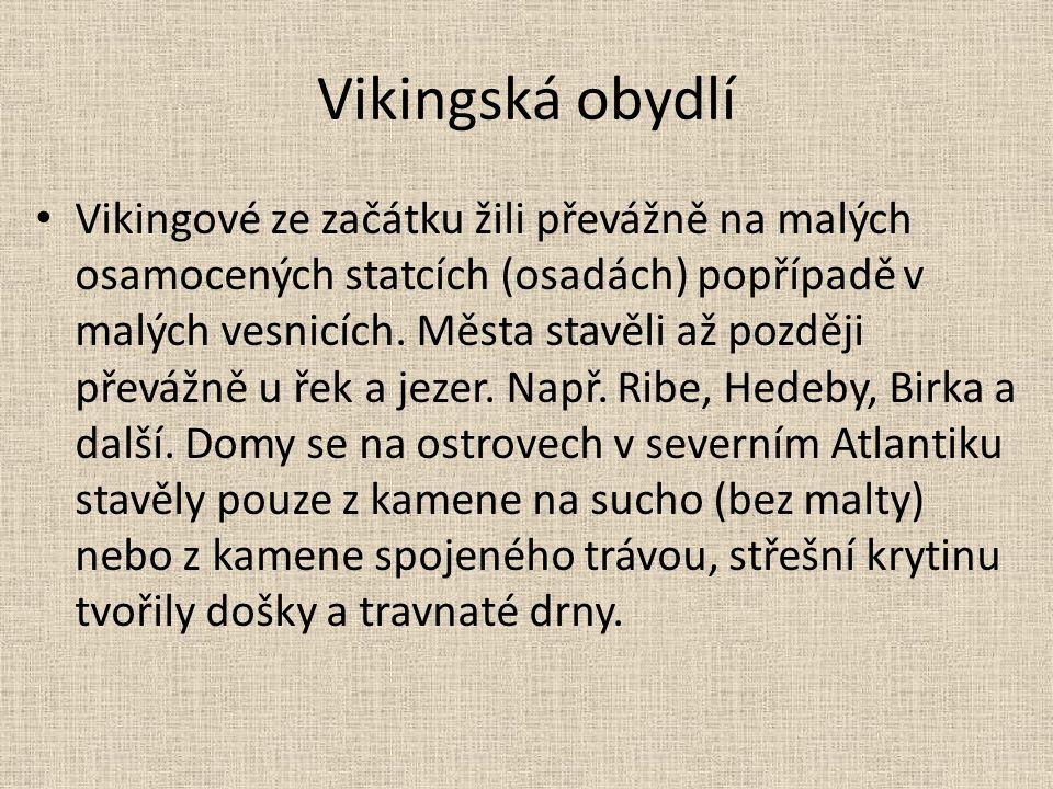Vikingská obydlí