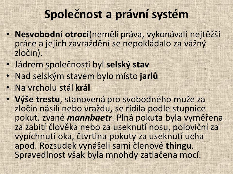 Společnost a právní systém