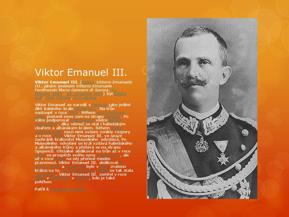 Viktor Emanuel III.