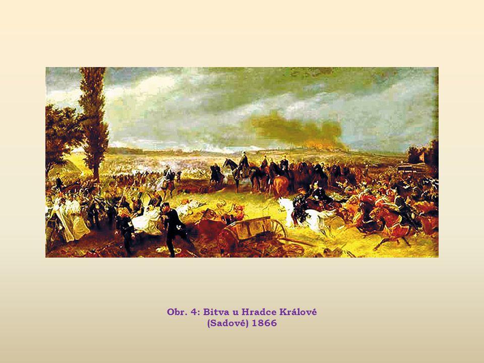 Obr. 4: Bitva u Hradce Králové (Sadové) 1866