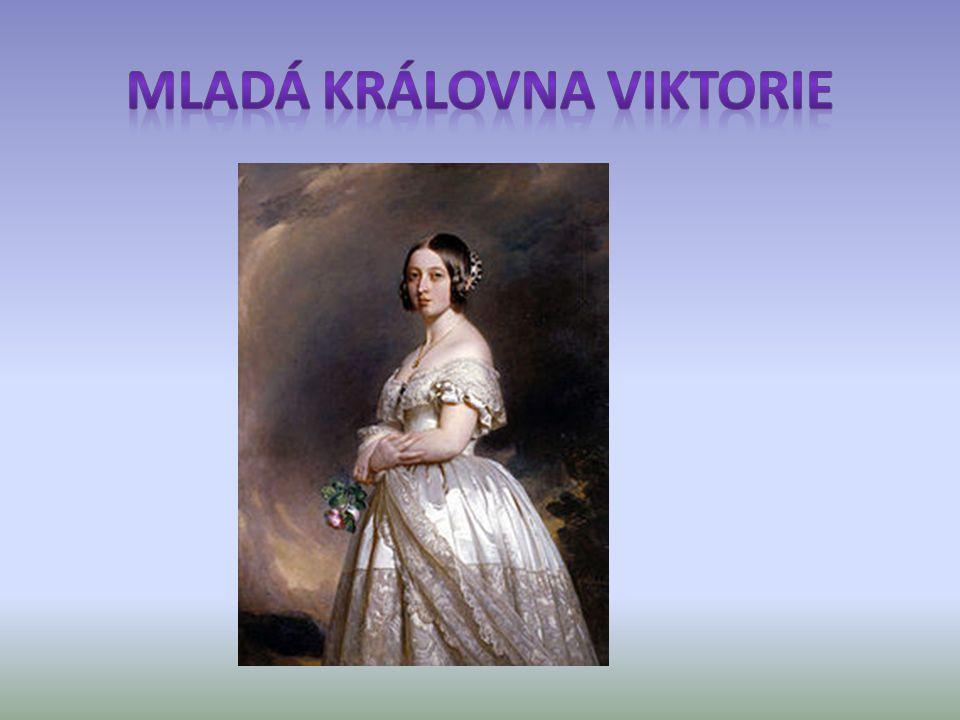 Mladá královna Viktorie