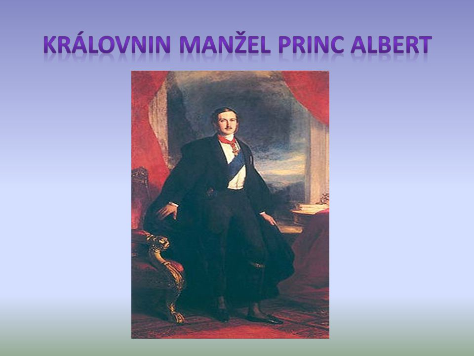 Královnin manžel princ Albert
