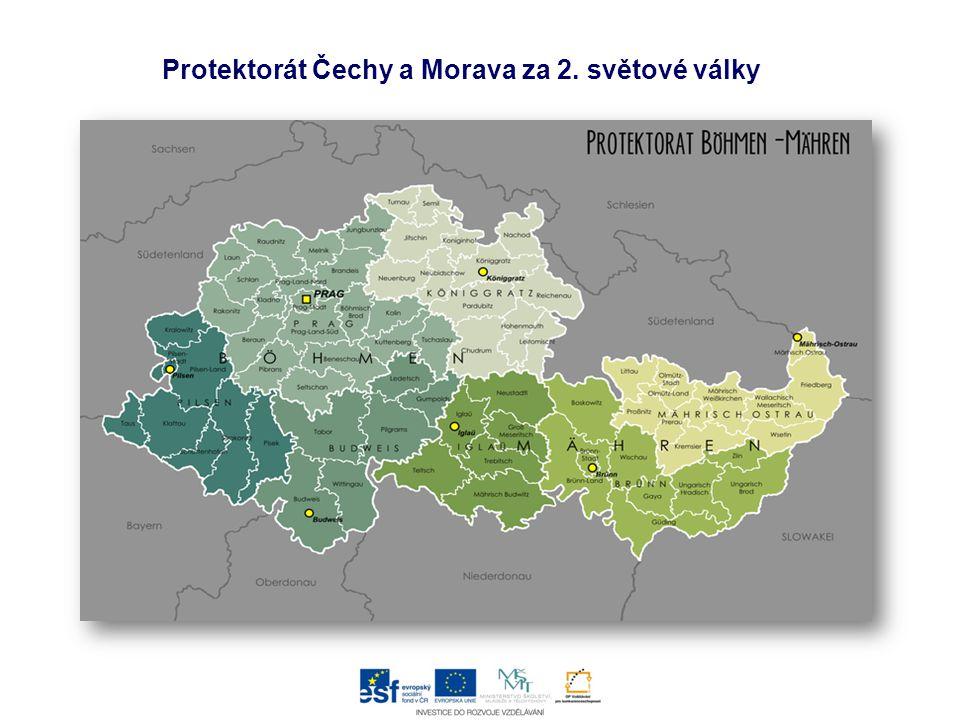 Protektorát Čechy a Morava za 2. světové války