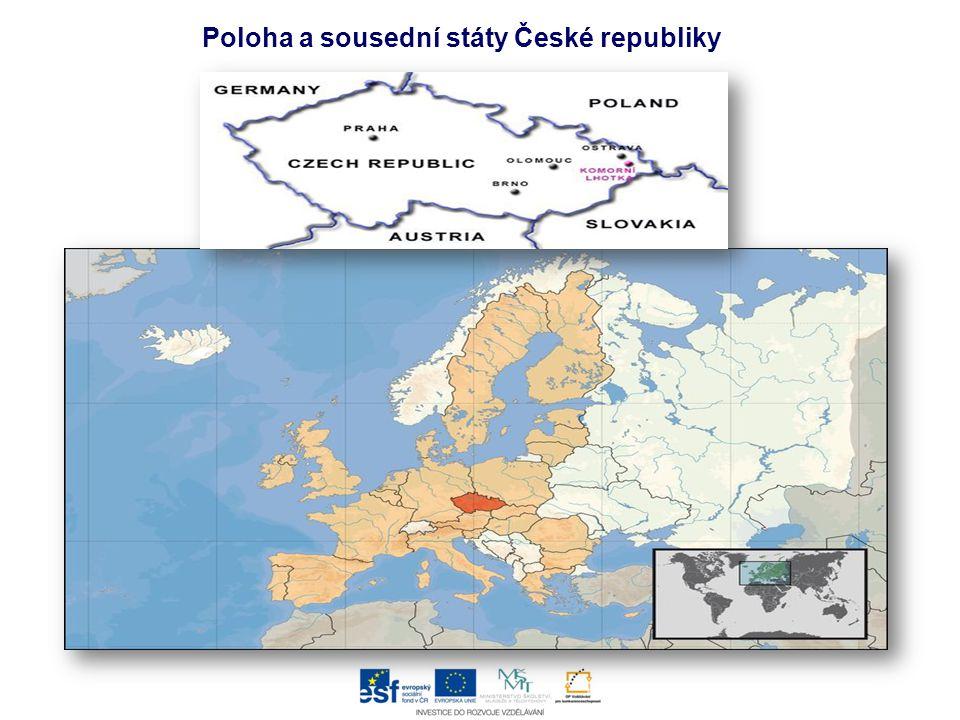 Poloha a sousední státy České republiky