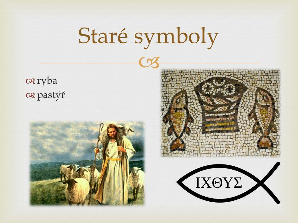 Staré symboly ryba pastýř