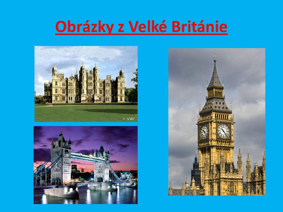 Obrázky z Velké Británie