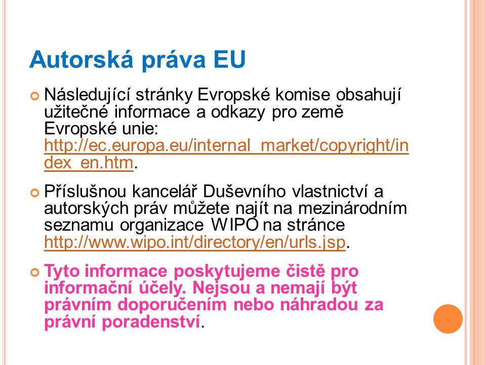 Autorská práva EU