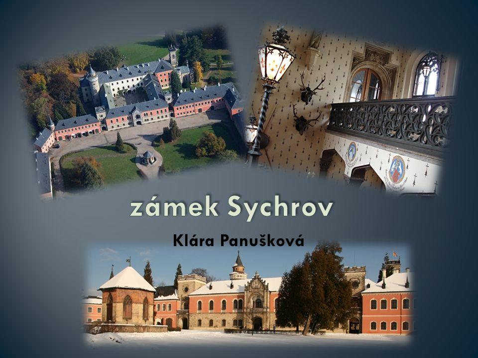 zámek Sychrov Klára Panušková