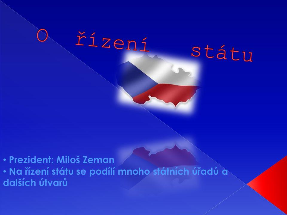 O řízení státu Prezident: Miloš Zeman