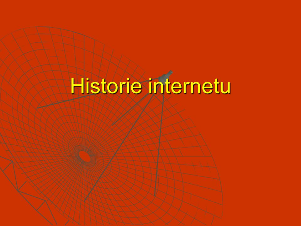 Historie internetu