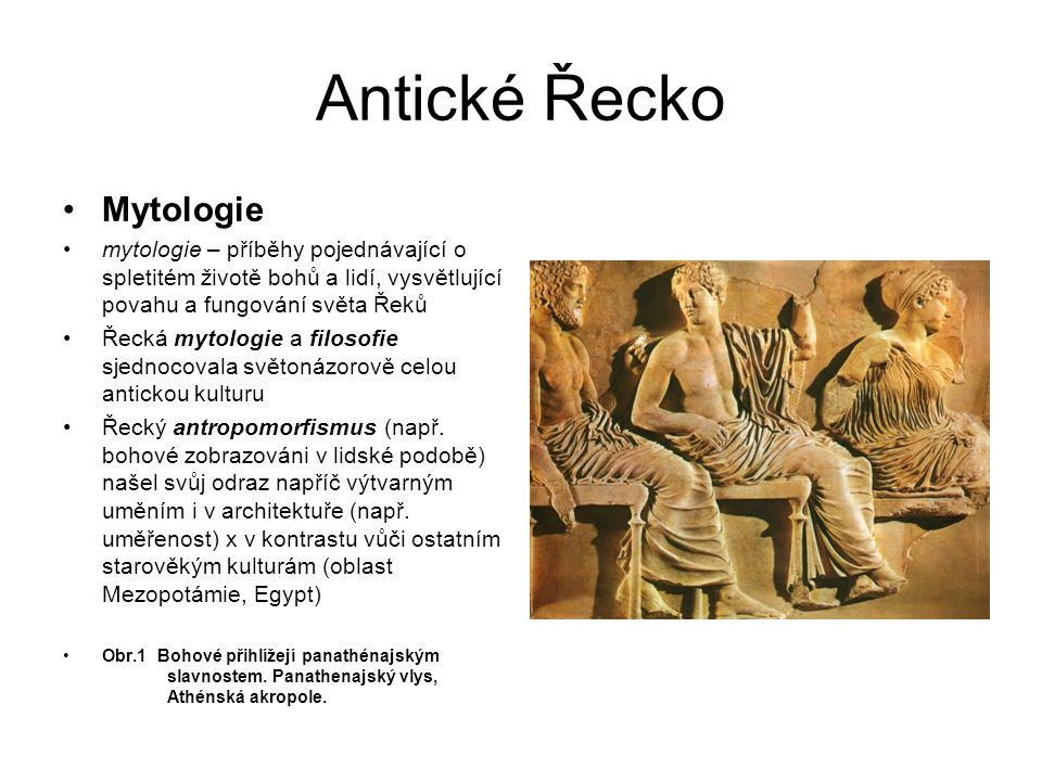 Antické Řecko Mytologie