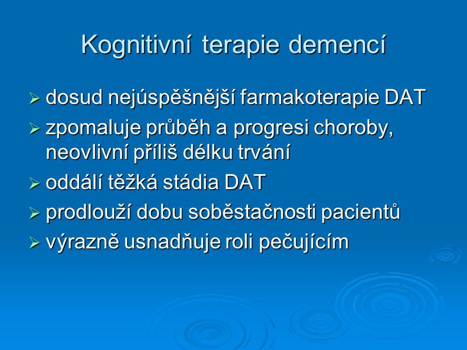 Kognitivní terapie demencí