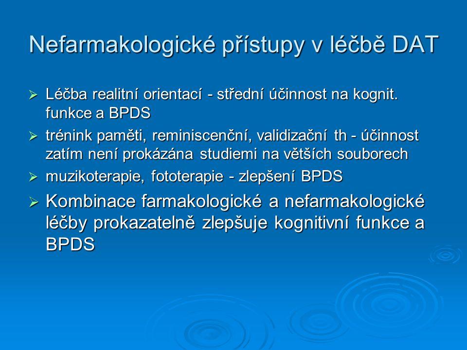 Nefarmakologické přístupy v léčbě DAT
