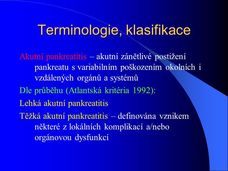 Terminologie, klasifikace