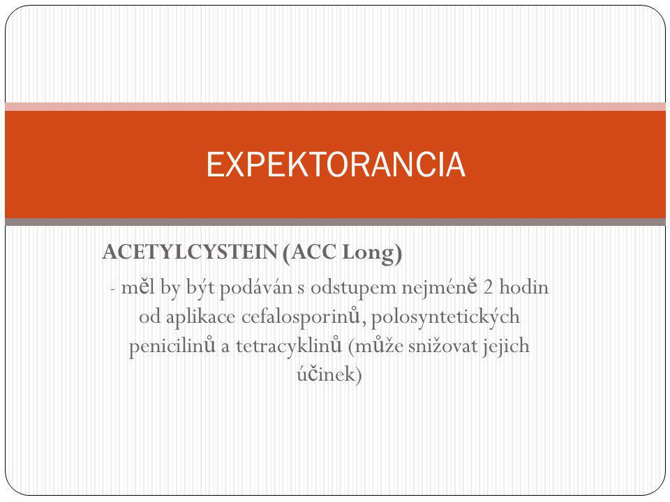 EXPEKTORANCIA ACETYLCYSTEIN (ACC Long)