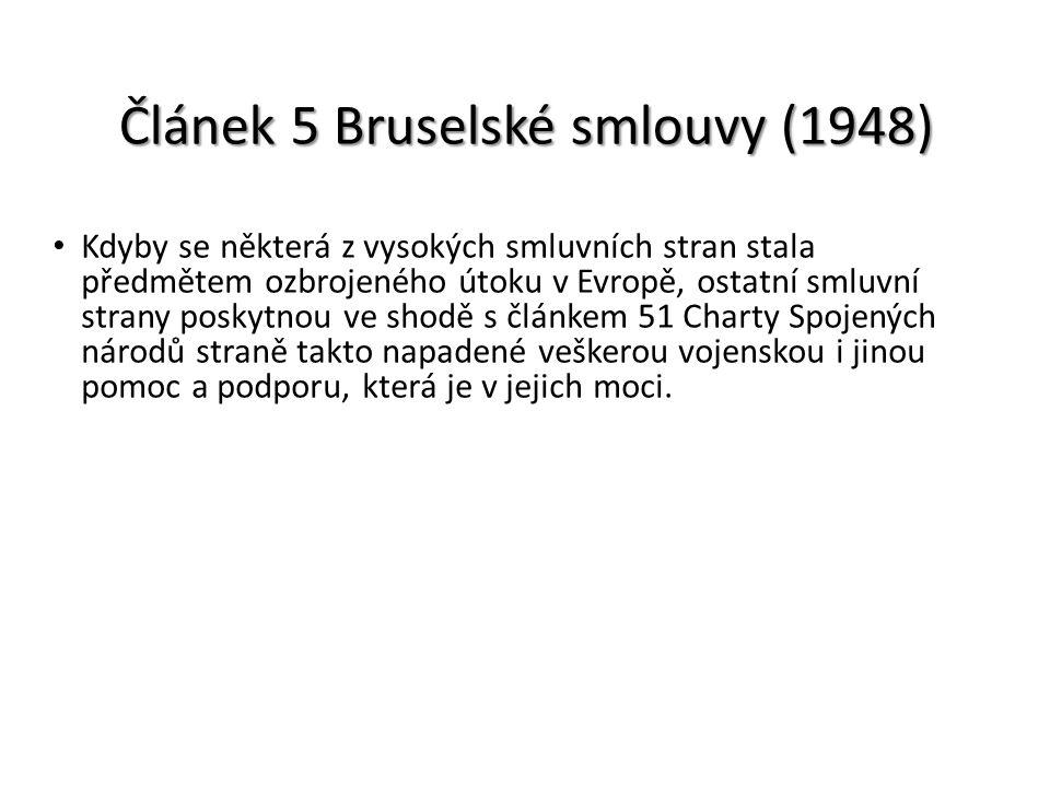 Článek 5 Bruselské smlouvy (1948)