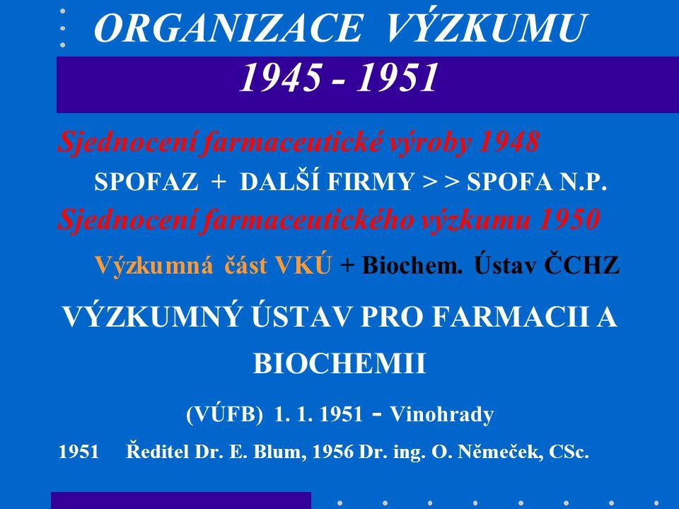 VÝZKUMNÝ ÚSTAV PRO FARMACII A BIOCHEMII