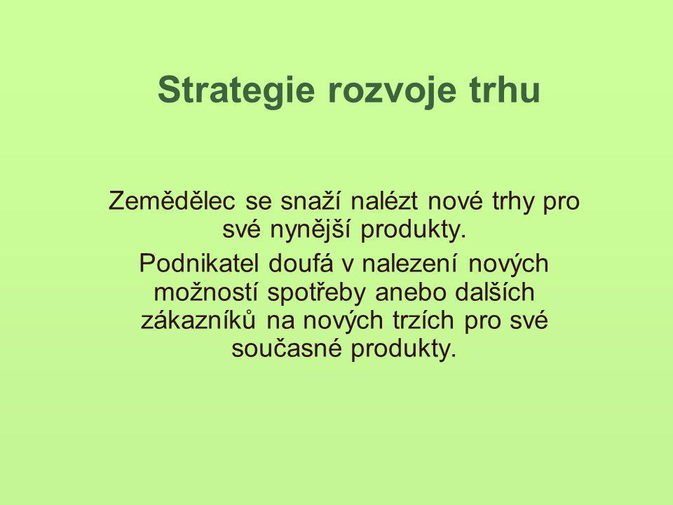 Strategie rozvoje trhu
