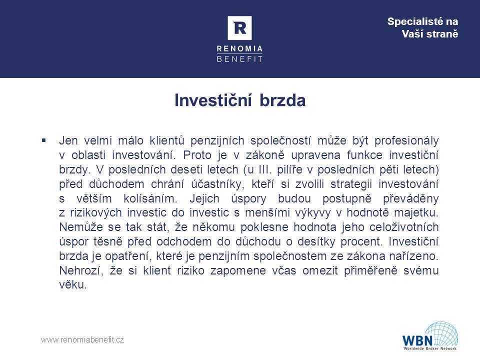 Investiční brzda