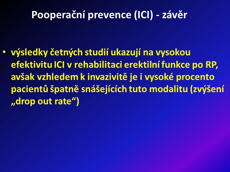 Pooperační prevence (ICI) - závěr