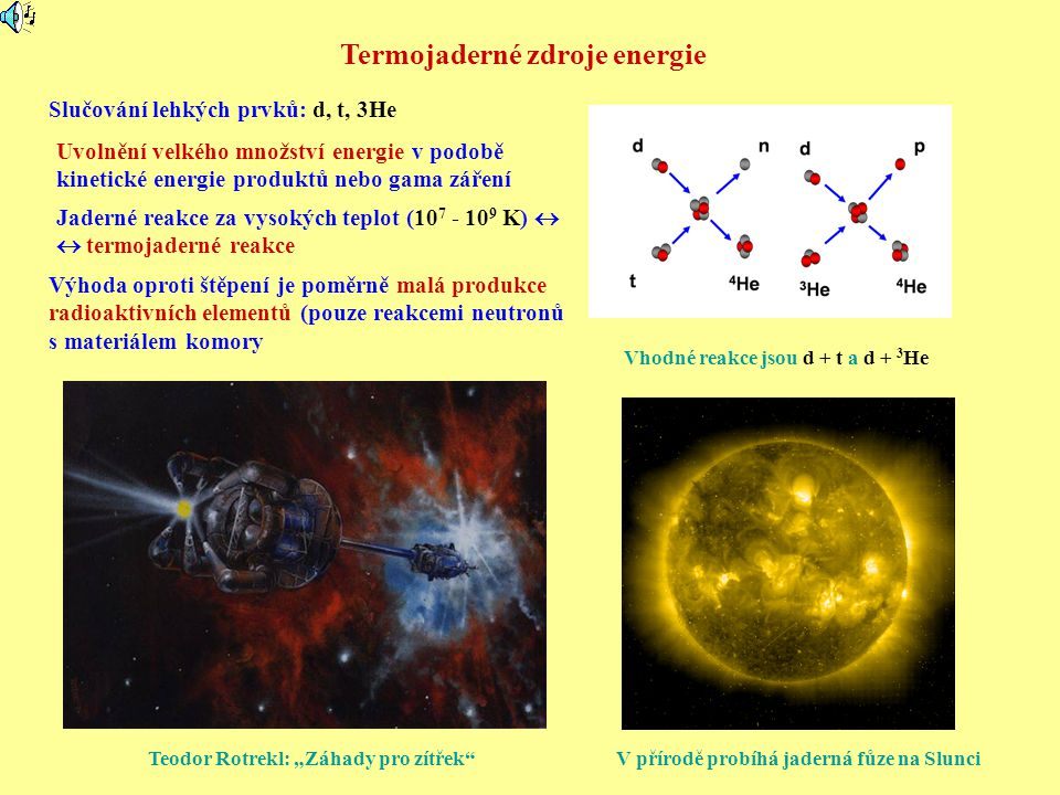 Termojaderné zdroje energie