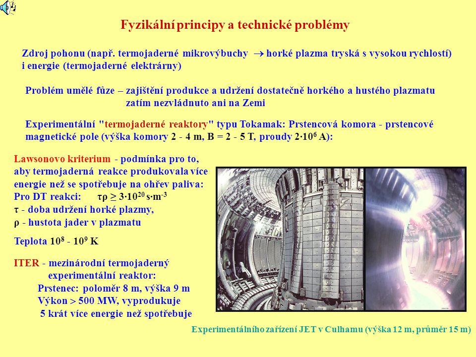 Fyzikální principy a technické problémy