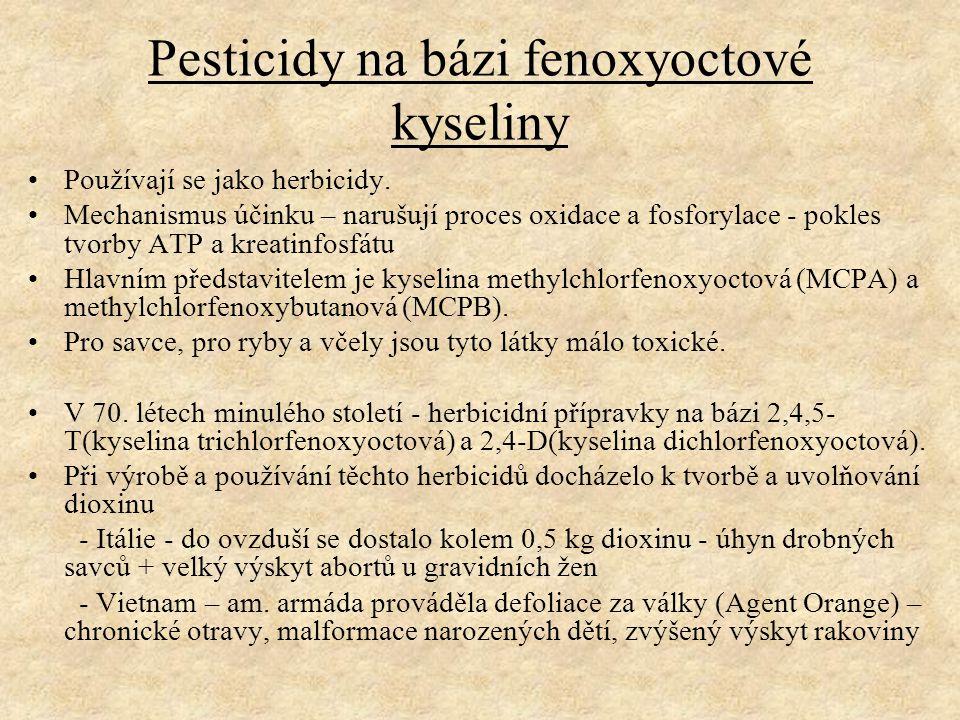 Pesticidy na bázi fenoxyoctové kyseliny