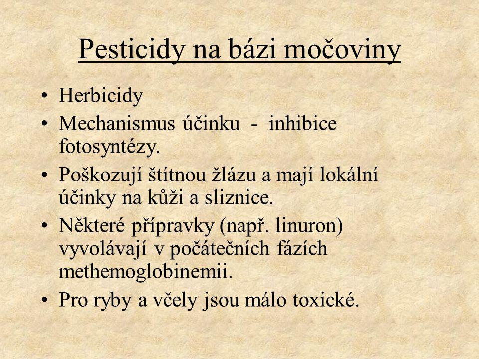 Pesticidy na bázi močoviny