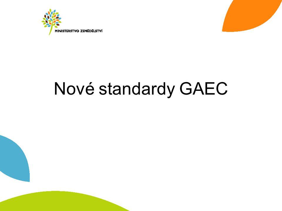 Nové standardy GAEC