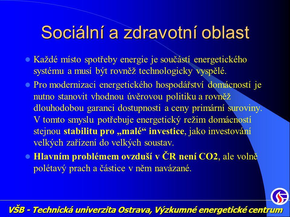 Sociální a zdravotní oblast