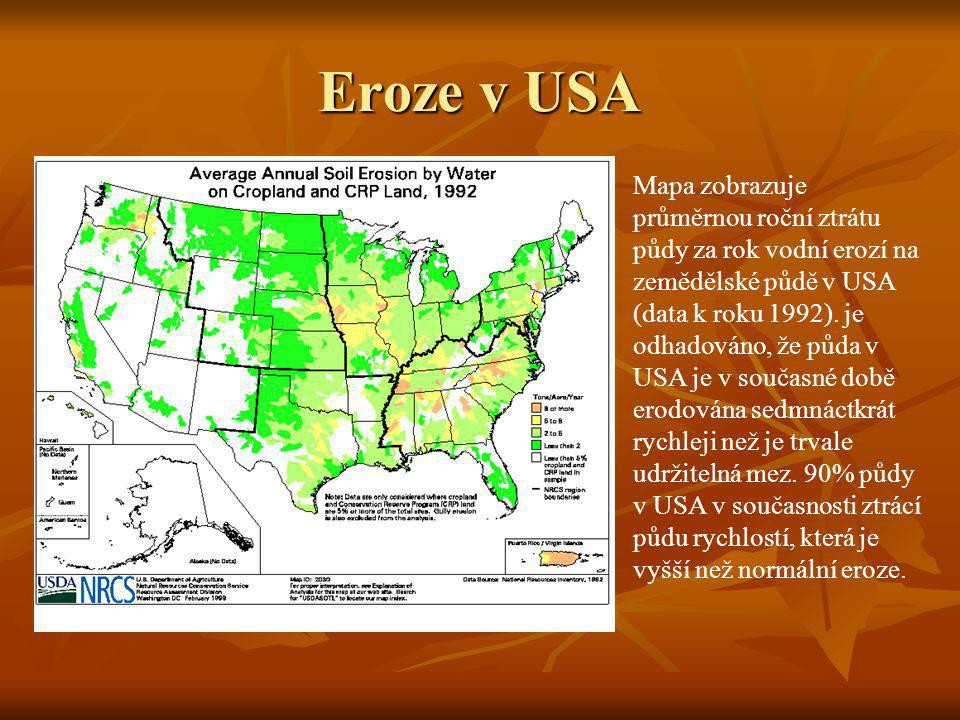 Eroze v USA