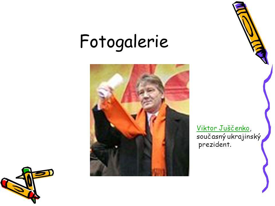Fotogalerie Viktor Juščenko, současný ukrajinský prezident.