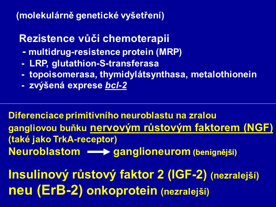 neu (ErB-2) onkoprotein (nezralejší)