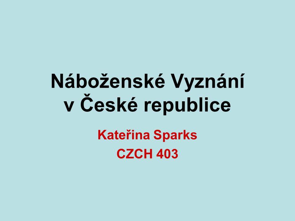Náboženské Vyznání v České republice
